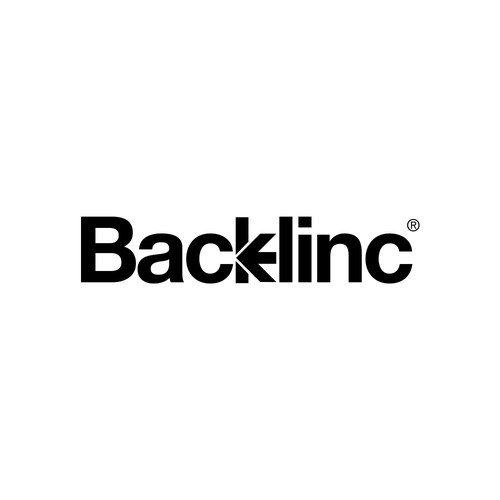 Helvetica design with the title 'Backlinc'