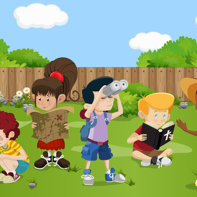 Vacation Bible School Illustrations