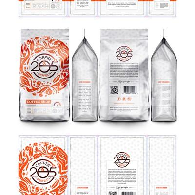 205 Coffee Packageing