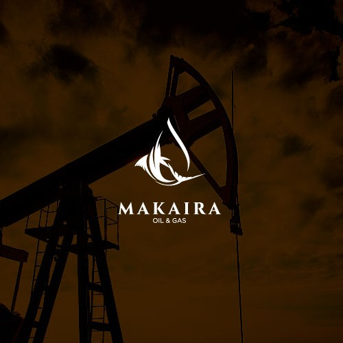 Marlin logo with the title 'Design Concept for Oil & Gas company'
