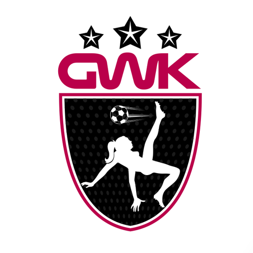 Soccer logo with the title 'Create A Logo for A Brand New Powerful Women's Clothing Line!'