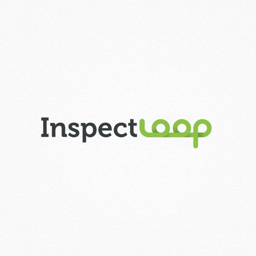 Loop design with the title 'InspectLoop.com needs a logo!'