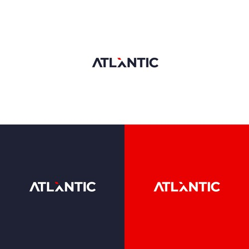Atlantic design with the title 'AtlanicX Logo'