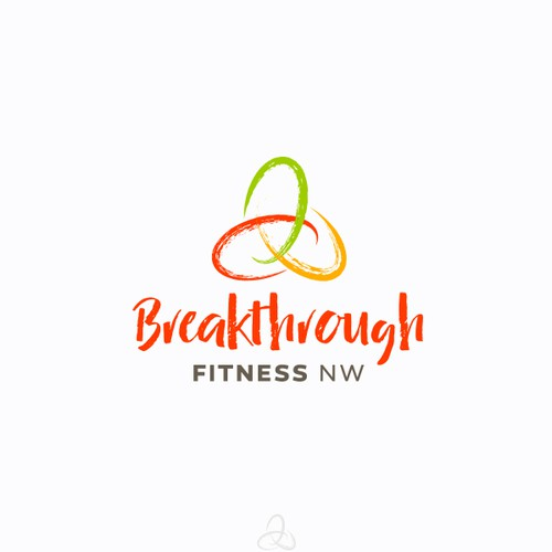Life coaching logo with the title 'Logo for Breakthrough Fitness (proposal)'