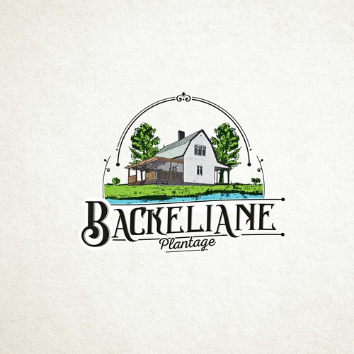 Tree design with the title 'Logo for Backeliane'