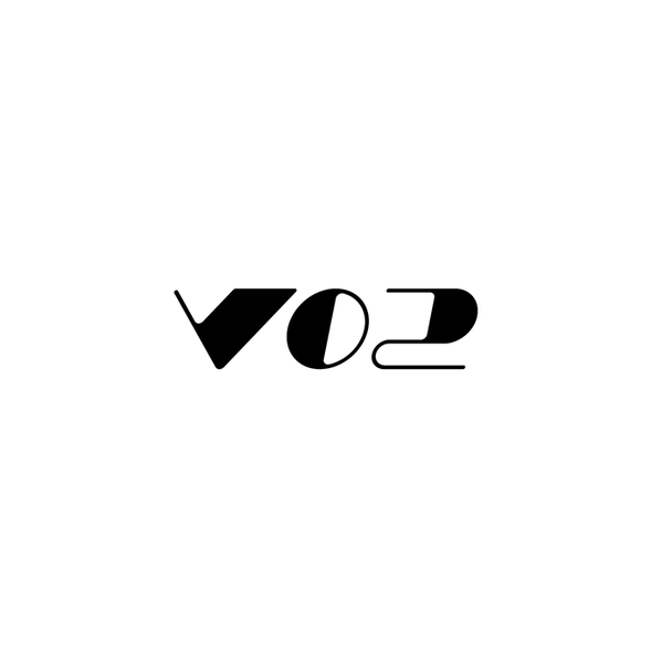 Athletic logo with the title 'VO2'