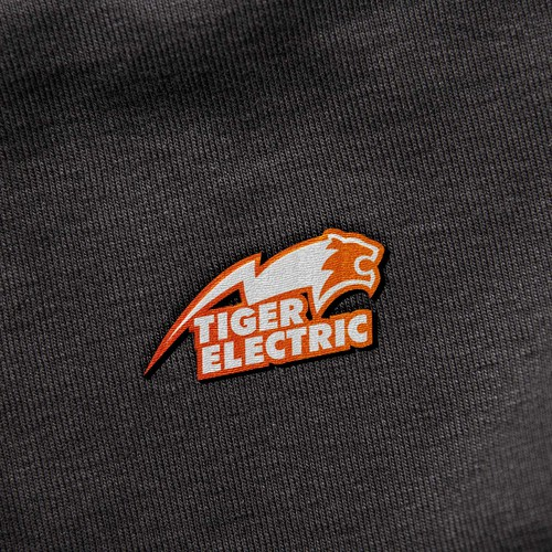 Tiger brand with the title 'Logo Concept for Tiger Electric'