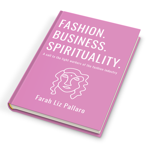Fashion book cover with the title 'Fashion.Business.Spirituality.'