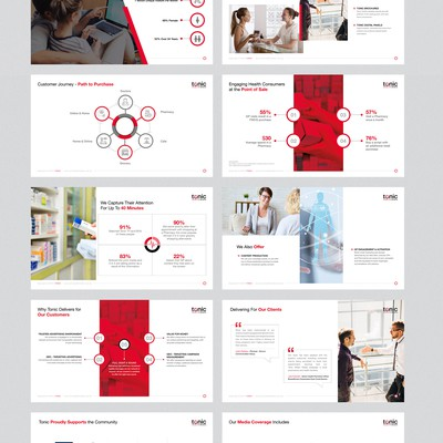 Tonic Powerpoint Presentation Design