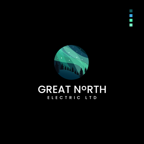 Northern Lights logo with the title 'Great North'