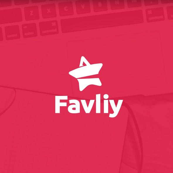 Online shop design with the title 'E-commerce Logo'