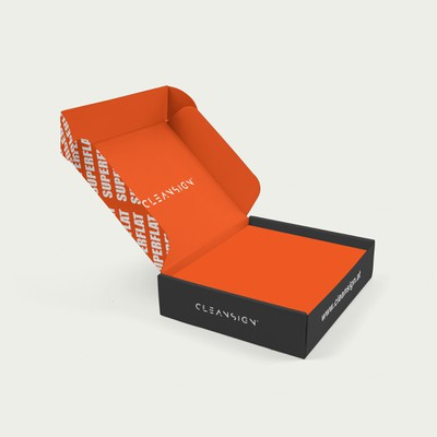 Box Design für Cleansign