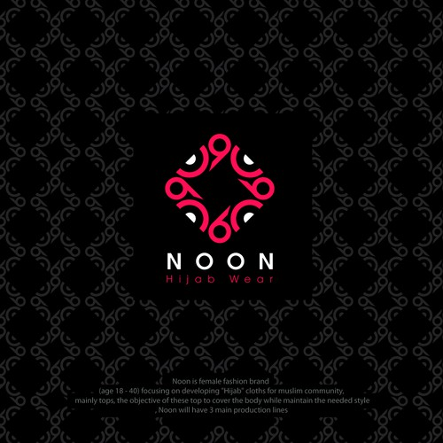 Pattern brand with the title 'Arabic Noon'