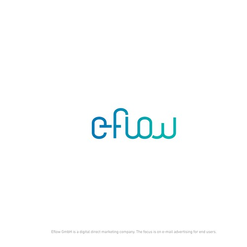 Email logo with the title 'E-Flow logo'