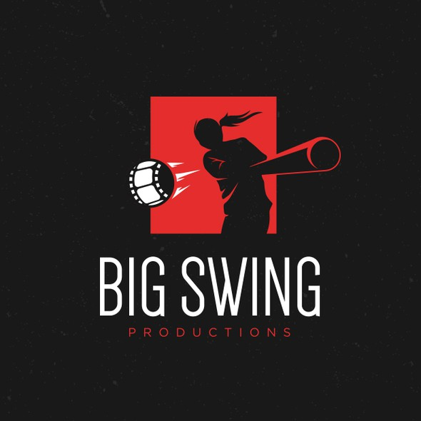 Feminine brand with the title 'Big Swing Productions'