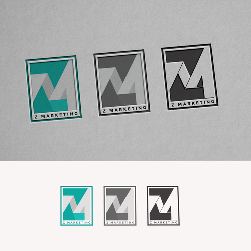 Initial logo with the title 'ZM for Z Marketing'