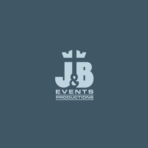 Production company logo with the title 'Logo for events productions team'