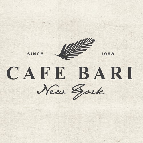 Coffee house design with the title 'Logo for a NYC based coffee shop'