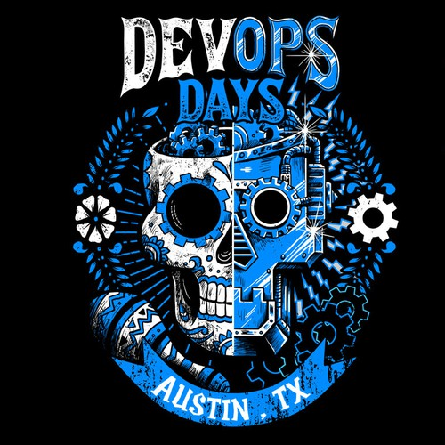 Technology t-shirt with the title 'devops days'