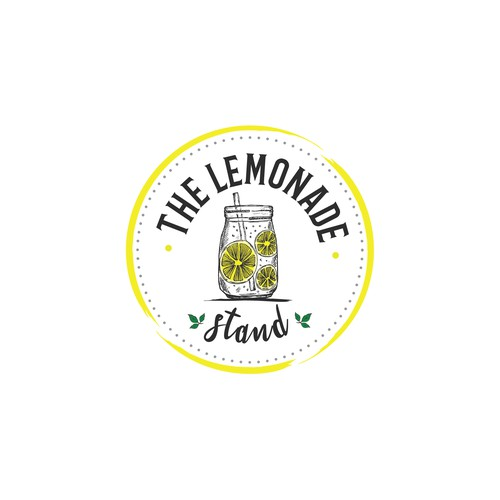Lemon logo with the title 'The Lemonade Stand'