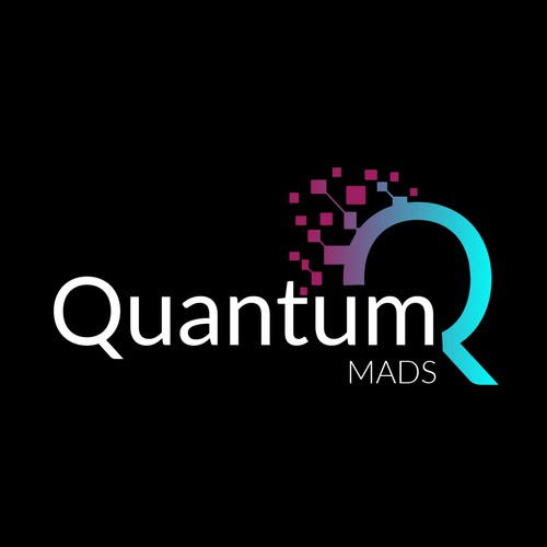 Computing logo with the title 'logo for quantum computing company'