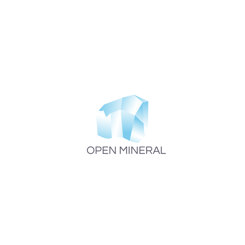Mineral design with the title 'logo design'
