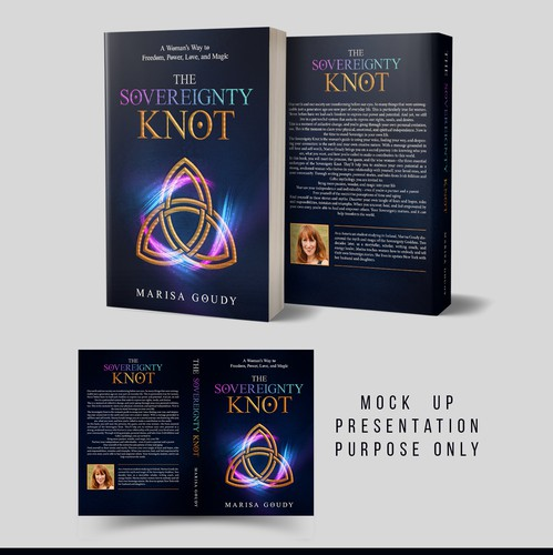 Powerful book cover with the title 'The Sovereignty Knot'