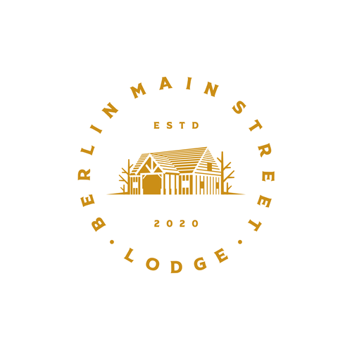 Timber logo with the title 'Timber Frame Lodge'