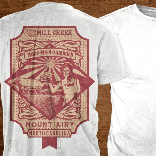 Farm t-shirt with the title 'Tee for Mill Creek General Store'