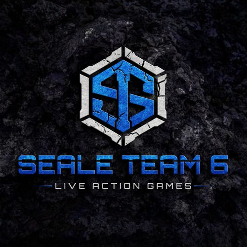 Action design with the title 'Seale Team 6 Live Action Games'