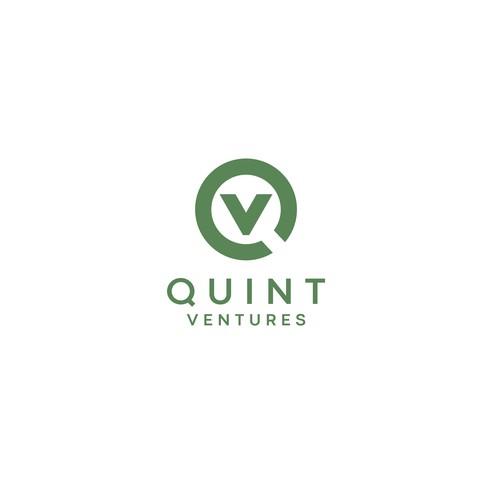 Venture logo with the title 'Quint Ventures Logo '