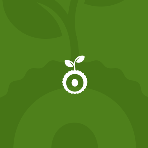 O logo with the title 'Logo concept for Plant Alone Nutrition'