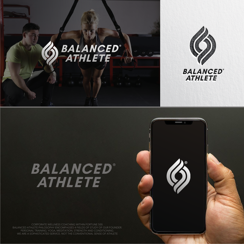Strength design with the title 'Balanced Athlete'