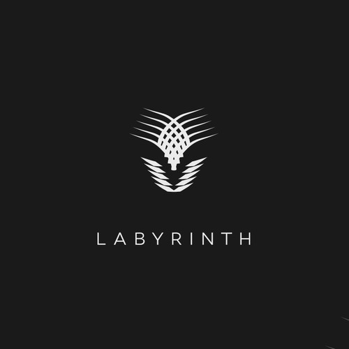 Man design with the title 'Evocative design for Labyrinth album art'