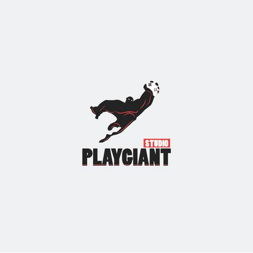 Giant logo with the title 'Bold logo for Play Giant Studio'