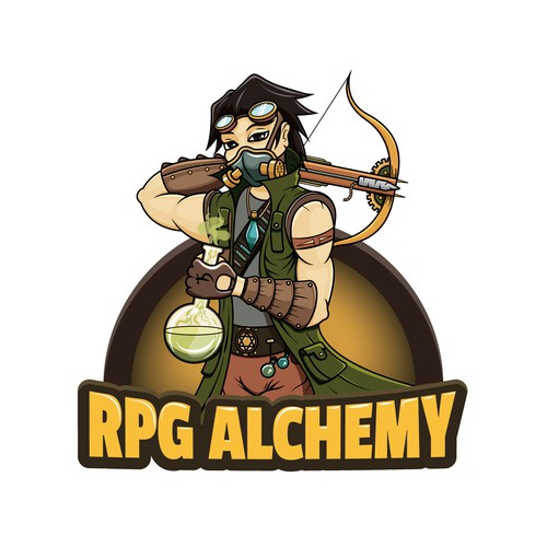 RPG design with the title 'Logo for roleplaying blog'