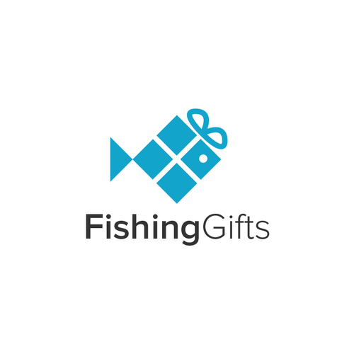 Fish logo with the title 'Fishing Gifts'