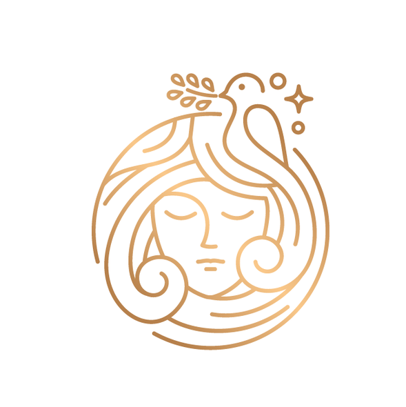 Stylist logo with the title 'Beauty Logo for sale'
