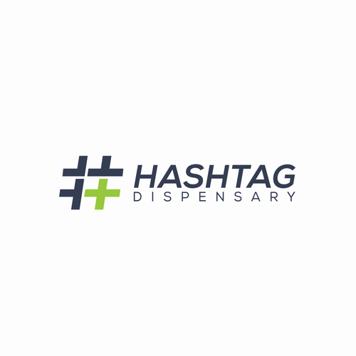 Dispensary logo with the title 'HASTAG DISPENSARY'