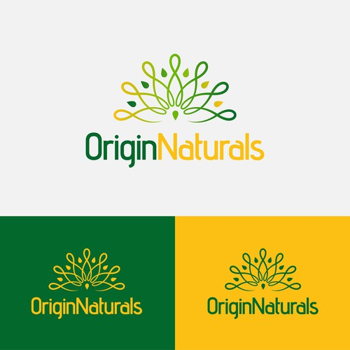 Unity logo with the title 'Origin Naturals'