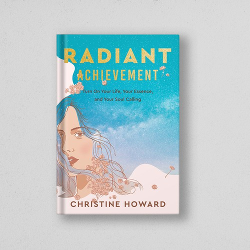 Women empowerment design with the title 'Cover book illustration'