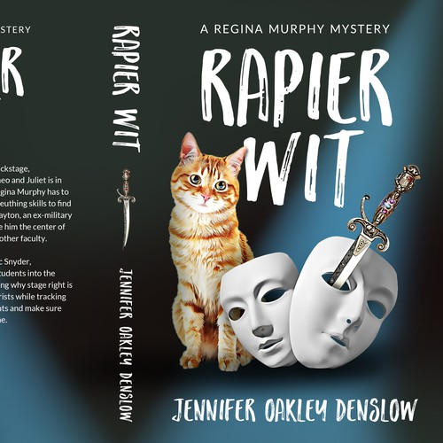 Theater design with the title 'Rapier Wit'