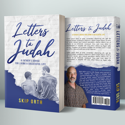 Parenting book cover with the title 'Letter to Judah'