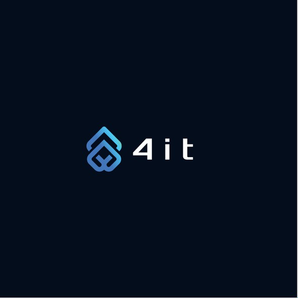 Honest logo with the title '4it Logo Design'
