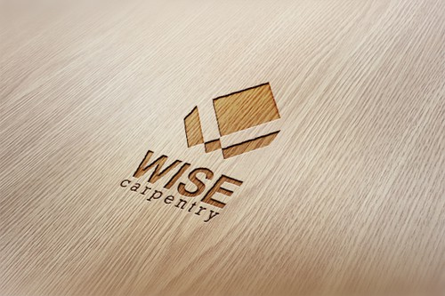 Wise logo with the title 'Logo for Wise Carpentry'