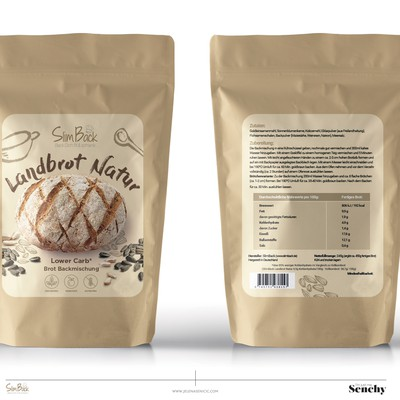 Bread powder packaging