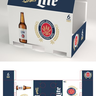 Product Packaging for Marijuana Beer