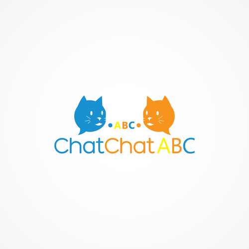 Number 2 logo with the title 'Chat for cats'
