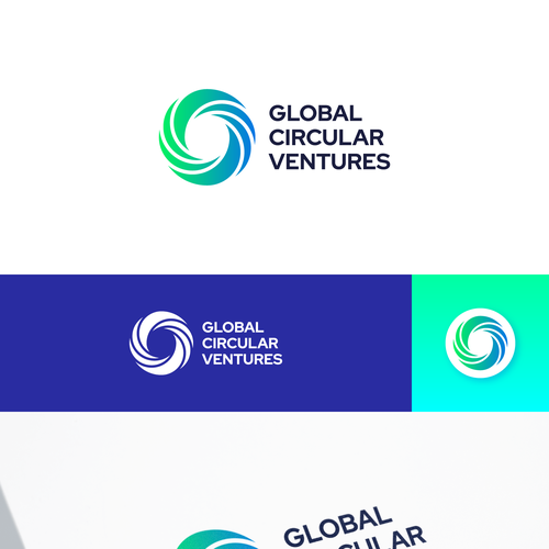 Economy logo with the title 'Global Circular Ventures'