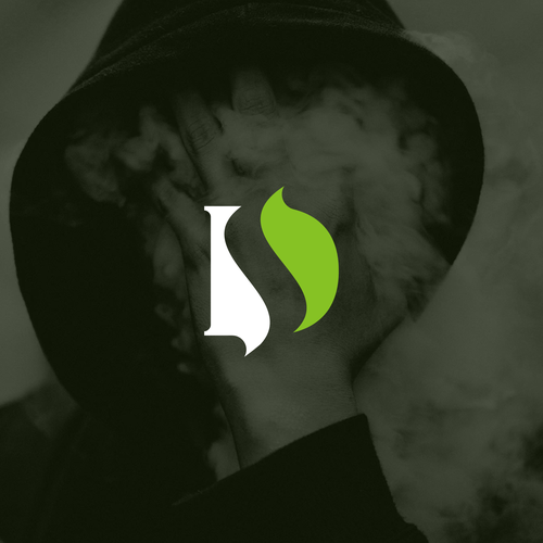 S logo with the title 'DS + Smoke Monogram'